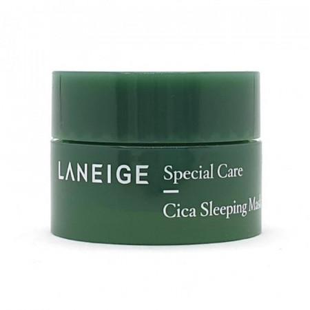 Ночная восстанавливающая маска миниатюра Laneige Cica Sleeping Mask 10 мл