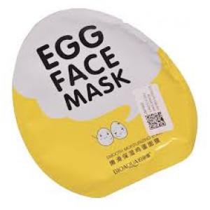 Маска для лица с экстрактом яичного желтка увлажняющая Bioaqua egg face mask