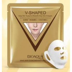 Маска для коррекции овала лица V-Shaped Bioaqua 40 гр