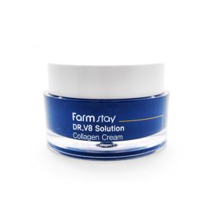 Крем с коллагеном Farm Stay DR-V8 Solution Collagen Cream