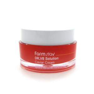 Крем с экстрактом икры Farm Stay DR-V8 Solution Caviar Cream