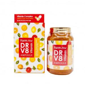 Витаминная сыворотка для лица FarmStay Dr-V8 Vitamin Ampoule 250 мл