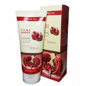 Пенка для умывания с экстрактом граната FarmStay Pomegranate Pure Cleansing Foam