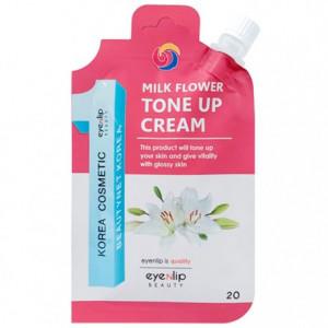 Крем для осветления и тонирования кожи Eyenlip Milk Flower Tone Up Cream