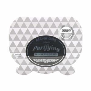Альгинатная маска с древесным углем LINDSAY All-In One Modeling Mask Pouch Purifying (Charcoal) 26 мл
