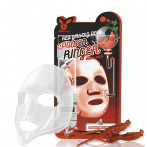 Омолаживающая маска для лица с экстрактом красного женьшеня Elizavecca Red Ginseng Deep Power Ringer Mask Pack