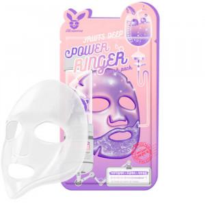 Увлажняющая маска для лица с фруктовыми экстрактами Elizavecca Fruits Deep Power Ringer Mask Pack