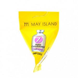 Высококонцентрированная сыворотка с коллагеном May Island 7 Days Highly Concentrated Collagen Ampoule