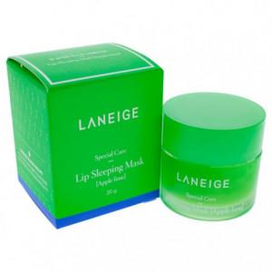 Ночная маска для губ с ароматом лайма LANEIGE Special Care Lip Sleeping Mask - Apple Lime