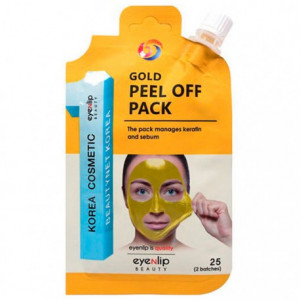 Очищающая маскав виде пленкиEyenlip Gold Peel Off Pack