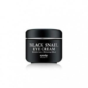Крем для век с муцином черной улитки Eyenlip Black Snail Eye Cream