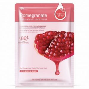 """Питательная тканевая маска для лица """"Гранат"""" Rorec Natural Skin Pomegranate Mask"""