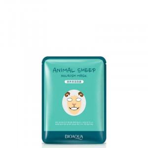 Питательная маска с принтом Bioaqua Animal Sheep Nourish Mask