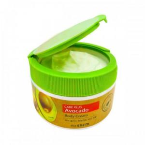 Крем для тела с экстрактом авокадо The Saem Natural Daily Avocado Body Cream 300мл