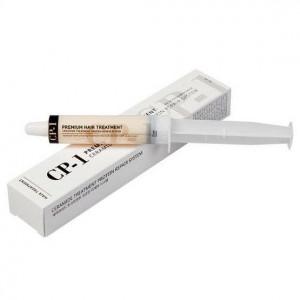 Протеиновая маска-шприц для лечения и разглаживания волос CP-1 Premium Hair Treatment Pouch