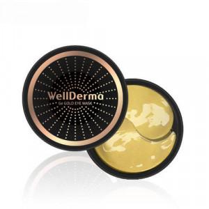 Омолаживающие патчи сгерманием изолотом WellDerma Ge Gold Eye Mask