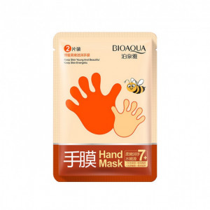 Маска-перчатки  Bioaqua Honey Soft