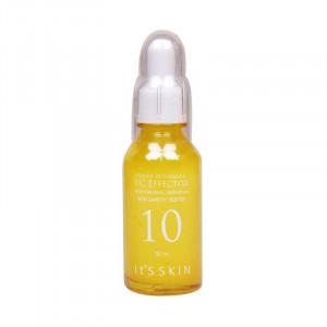 Тонизирующая сыворотка для лица с витамином С и экстрактом зелёного чая It's Skin Power 10 Formula Vc Effector