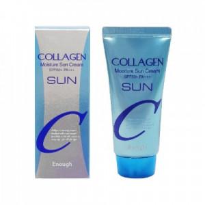 Увлажняющий солнцезащитный крем Enough Collagen Moisture Sun Cream SPF 50 PA+++