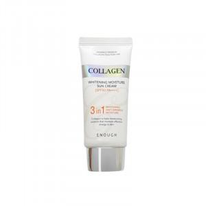 Солнцезащитный крем с морским коллагеном Enough Collagen 3 in 1 Whitening Moisture Sun Сream