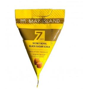 Сахарный скраб для лица May Island 7 Days Secret Royal Black Sugar Scrub