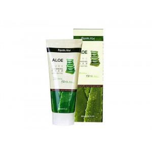 Пенка для лица с экстрактом алоэ FarmStay Aloe Pure Cleansing Foam