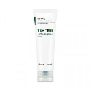 Успокаивающая пенка для очищения кожи лица c экстрактом чайного дерева A'Pieu Nonco Tea Tree Cleansing Foam