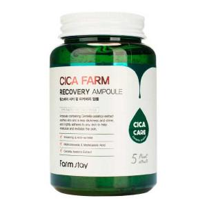 Ампульная сыворотка с центеллой азиатскойFarmstay Cica Farm Recovery Ampoule