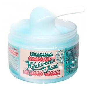 Кислородный крем-пудинг для лица с гиалуроновой кислотой  Elizavecca Moisture Hyaluronic Acid Memory Cream