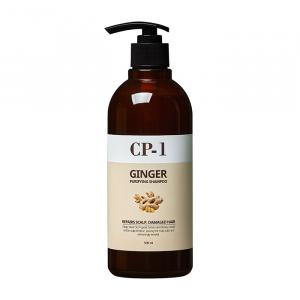 Глубоко очищающий шампунь для волос и кожи головы с экстрактом имбиря Esthetic House Ginger Purifying Shampoo