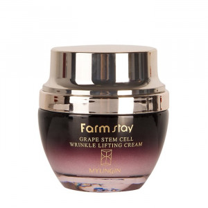 Антивозрастной крем для лица со своловыми клетками FarmStay Grape Stem Cell Wrinkle Lifting Cream