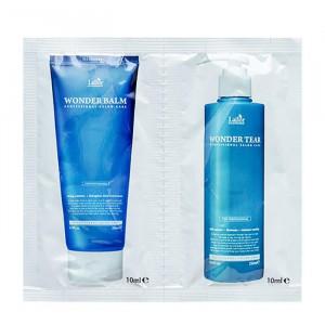 Набор для комплексного ухода за волосами в индивидуальной упаковке La'dor Wonder Clinic Pouch Set
