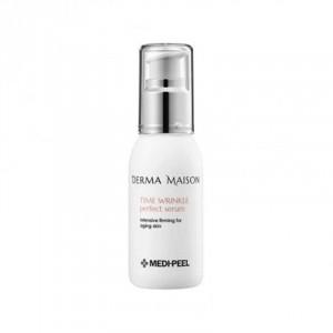 Омолаживающая антиоксидантная сыворотка с токоферолом  Medi-Peel Derma Maison Time Wrinkle Perfect Serum