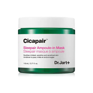 Успокаивающая ночная ампульная маска с экстрактом Центеллы Азиатской  Dr.Jart+ Cicapair Sleepair Ampoule-in Mask