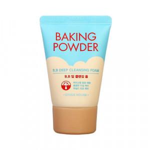 Пенка с содой - Travel-версия - Etude House Baking Powder BB Deep Cleansing Foam, 30 ml