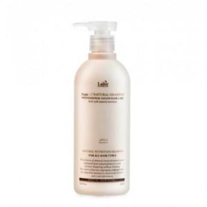Безсульфатный органический шампунь с эфирными маслами Lador Triplex Natural Shampoo - 530 мл