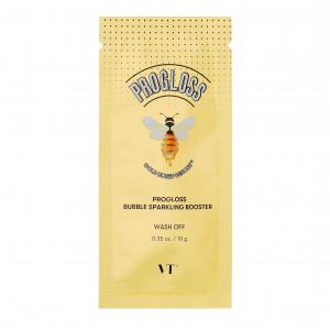 Пузырьковая маска с прополисом и золотом VT Cosmetics Progloss Bubble Sparkling Booster