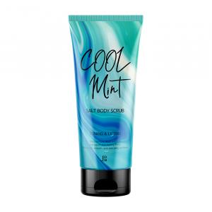 Солевой антицеллюлитный скраб для тела с ментолом и мятой  J:ON Cool Mint Salt Body Scrub