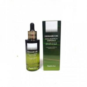 Ампульная сыворотка для чувствительной кожи лица Farm Stay Derma Cube Centella Madeca Ampoule