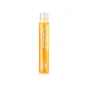Витаминизирующий филлер с витаминным комплексом и аминокислотами для тусклых волос  FarmStay Derma Cube Vita Clinic Hair Filler 13мл