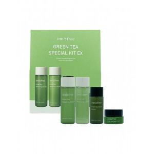 Увлажняющий набор миниатюр с зеленым чаем Innisfree Green Tea Special Kit EX