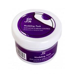 Альгинатная маска для лица против акне J:ON Modeling Pack Anti-Acne & Sebum Control