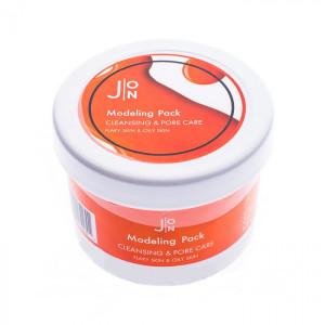 Альгинатная маска для очищения и сужения пор на лице J:ON Modeling Pack Cleansing & Pore Care