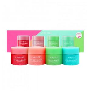 Набор ночных масок для губ Laneige Lip Sleeping Mask Mini Kit 4 x 8g