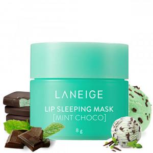 Ночная маска для губ, с ароматом мяты и шоколада Laneige Lip Sleeping Mask Mint Choco 8g