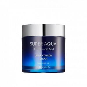 Ультра увлажняющий крем Missha Super Aqua Ultra Hyalron Cream 70 ml