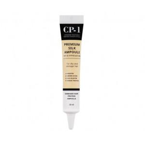 Несмываемая сыворотка с протеинами шелка Esthetic House CP-1 Premium Silk Ampoule 20 ml