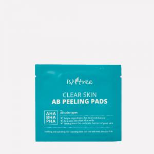 Пилинг-пэды на основе кислот ISNTREE Clear Skin AB Peeling Pads (пробник)