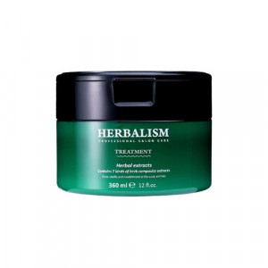 Успокаивающая маска для волос с аминокислотами  Lador Herbalism Treatment 360 мл