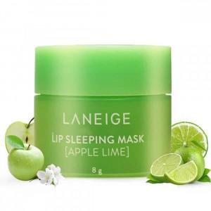 Ночная маска для губ с ароматом лайма LANEIGE Special Care Lip Sleeping Mask - Apple Lime 8г